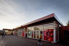 © 11h45 / Centre de loisirs Jacques Tati, Bezons (95) - A19 Architecture