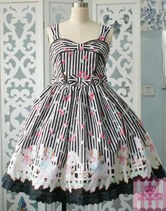 (Replica)Dream of Lolita Sheep Garden JSK Dress