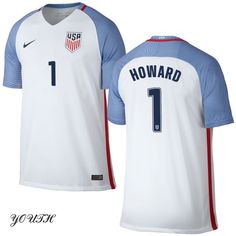 16/17 Tim Howard Youth Home Jersey #1 USA Soccer
