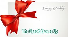 Hassle Free Shopping = The Great Frame Up Gift Cards! #holiday #gifts #holidayshopping #shopearly