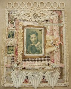 Fabric family album by yitte, via Flickr