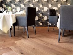 Overview of all references from mafi natural wood floors. See for yourself the benefits of using mafi natural wood floors in private as well as business areas! Natural Wood Flooring, Hardwood Floors, Tongue And Groove, Hotel Lobby, Grand Hotel, Wood Species, Plank, Dining Chairs, Knots