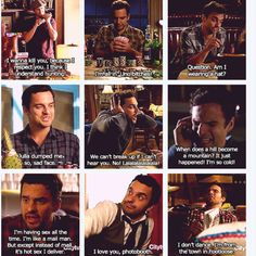 Anyone who doesn't like New Girl and Nick Miller, is just plain crazy or has zero sense of humour.. I <3 him