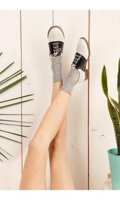 Suzy Saddle shoes by Lazzari