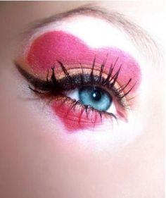 Queen of Hearts Makeup #Heart