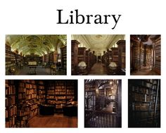"""""""Library"""" by hallaveryh ❤ liked on Polyvore featuring interior, interiors, interior design, home, home decor and interior decorating"""