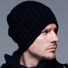 Casual Hip Hop Beanies Men Winter Knitted Bonnet Hats For Men's Outdoo – Jason…
