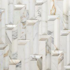 Steps Calacatta Gold Dimensional Field Tile | Artistic Tile