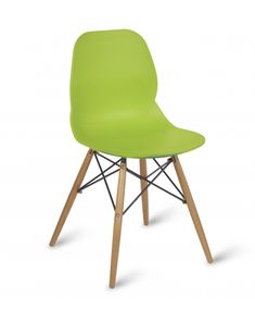 Cafe, BreakOut, Dining Chair With Wooden Spindle Legs