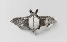 Buckle in the form of a bat, Ferdinand Erhart, 1908
