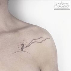 Small Tattoo by Ahmet Cambaz