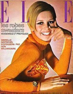 #Twiggy in #Elle