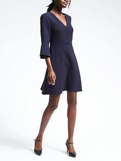 Reija's dress option Flutter sleeve dress Banana Republic $118