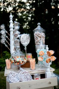 Awesome candy bar and display