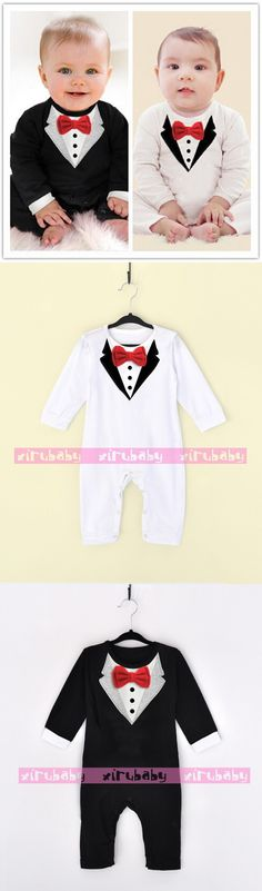 New newborn baby rompers clothing baby boys clothes tie gentleman bow leisure toddler one-pieces jumpsuit