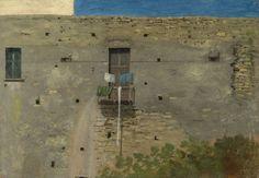 """Thomas Jones, """"Un muro a Napoli - Un muro en Nápoles - A wall in Naples"""" 🏚 oil on paper laid on canvas, cm National Gallery, London  Naples, Thomas Jones, Social Realism, Art Uk, Romanticism, Great Artists, Landscape Paintings, Top Paintings, Landscapes"""