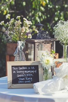 Honoring a loved one at the wedding