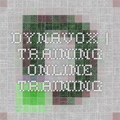 DynaVox   Training - Online Training