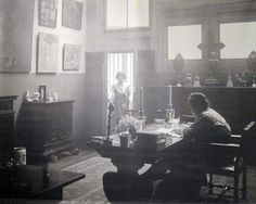 Gertrude (Stein) and Alice at 26, rue de Fleurus