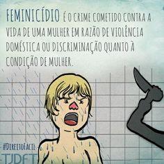 Feminicídio no direito brasileiro http://colunagianizalenskin.blogspot.com/2016/10/feminicidio-no-direito-brasileiro.html