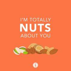 valentine's day card nuts