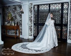 Wedding Veil  Drop Veil  Cathedral Drop TwoTier by AlisaBrides, $1000.00