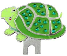 Turtle hat clip and Bling Shell ball marker