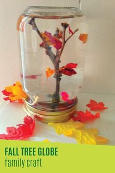 Celebrate the changing of the seasons by creating this fun family craft with your little ones. These kid-friendly DIY fall tree globes are so simple to make with the help of a mason jar and some nature items found around your yard. Don't let incontinence prevent you from collecting twigs outside with the kids—Depend® FIT-FLEX® Underwear will help keep you drier as you play with your kids this fall!