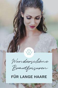 Mit langen Haaren hat man als Braut viele tolle Möglichkeiten für eine schöne Brautfrisur. Ob offen, lockig oder als Hochsteckfrisur. Wir zeigen Euch hierzu ein paar Inspirationen - Schaut jetzt vorbei ! #WeddyPlace #Brautfrisur #Bride #Brauthaare #Wedding Movie Posters, Long Hair, Wedding, Nice Asses, Couple, Amazing, Film Poster, Billboard, Film Posters