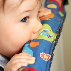 A tutorial on how to whip up some quick teething rail guards to protect the edges of your cot from eager chewing.