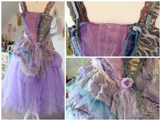upcycled clothes using lace and ribbon scraps - Google Search