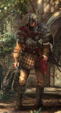 The Lord of the Ice Garden, Vuko Drakkainen (Human Knight), Dariusz Radecki on ArtStation at https://www.artstation.com/artwork/WJrmy