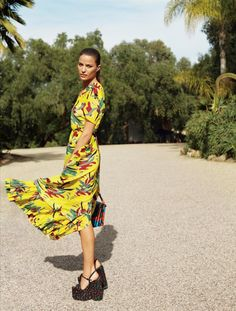 Cameron Russell in MARNI by Cass Bird for Vogue US May 2015