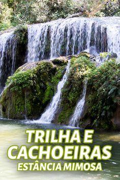 Explorar a trilha e cachoeiras na Estância Mimosa foi um dos passeios mais divertidos que fizemos em nossa viagem de Bonito.