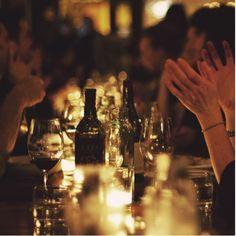 <3 dinner w frens....