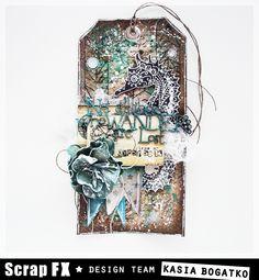 Seahorse Tag - for Scrap FX