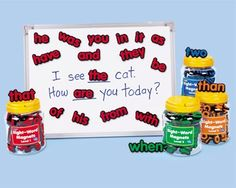Amazon.com: Lakeshore Sight Word Magnets, Levels 1 and 2: Toys & Games. Buy it cheaper on Amazon!