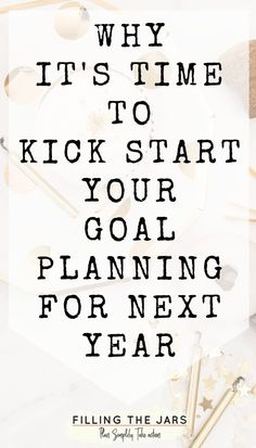 Goal planning tips to help overwhelmed overthinkers set realistic goals for next year. Achieve your goals by keeping the planning process simple and focused. Start planning your yearly goals now for a no-stress start to the new year. #goalsetting #motivation #planning
