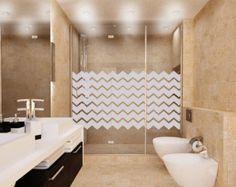 vinyl applique on glass shower doors - Google Search