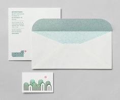 Visual identity and stationery by Studio fnt for Ulju Mountain Film Festival