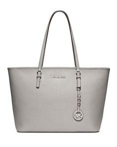 Love the grey color of this tote.