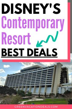 Want to stay at the Contemporary hotel at Disney World? You Disney World Hotels, Best Resorts, Disney World Resorts, Disney Vacations, Best Family Vacations, Family Vacation Destinations, Vacation Deals, Travel Hacks, Travel Advice