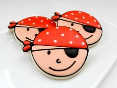 Pirate cookies at Sugarbelle