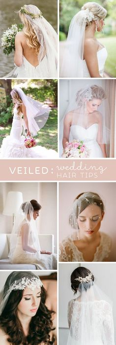 These are the BEST tips and tricks for wearing wedding veils, it's a must read!