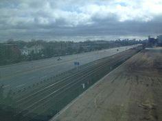 MassPike deserted, 4/19/13:16 Eerie Images Of Boston On Lockdown