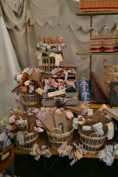 baskets of goodies