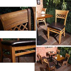 cheap restaurant chairrs for sale Farmhouse Dining Chairs, Solid Wood Dining Chairs, Wooden Dining Tables, Dining Room Chairs, Dining Furniture, Restaurant Chairs For Sale, Modern Restaurant, Restaurant Furniture, Wooden Kitchen