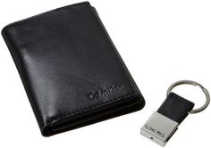Calvin Klein Men's Leather Trifold