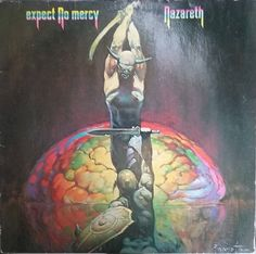 Nazareth, Expect No Mercy, Vintage Record Album, Vinyl LP, Classic Rock and Roll, Hard Rock, Heavy Metal, Scottish Rock Band by VintageCoolRecords on Etsy