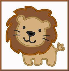 lion applique for uncle Jarryd